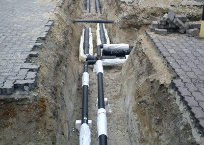 Erdverlegte Kunststoffmantelrohrleitungen für Fernwärmenetze